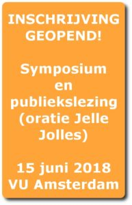 Inschrijving symposium geopend